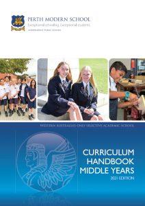 perth modern curriculum handbook 2021 cover